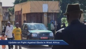 Update on fight against Ebola in West Africa